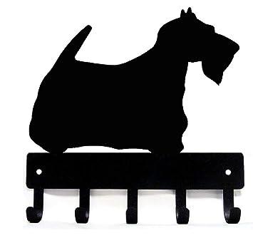Amazon.com: Terrier escocés Scottie clave rack/correa del ...