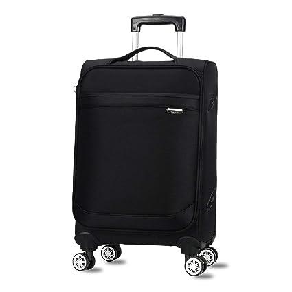 Estuche de viaje, Maletas superligeras 3 tamaños - 20/24/28 pulgadas - Funda flexible Equipaje con asa ...