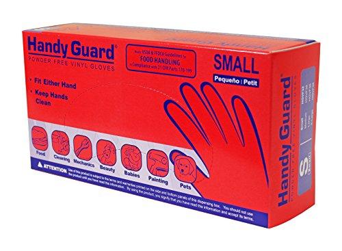 Adenna Hgvf32 Handy Guard 3 5 Mil Vinyl Powder Free Gloves