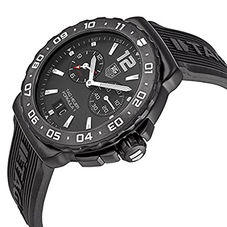 Tag Heuer Formula 1 Titanium Chronograph Mens watch – Black