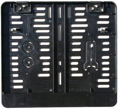 Kennzeichenhalter Kennzeichenverstärker Kennzeichenbefestigung Aus Kunststoff Für Kennzeichen 250 X 200 Mm Schwarz Auto