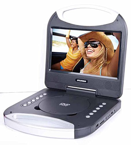 Sylvania 10-inch Portable DVD Player with Integrated Handle