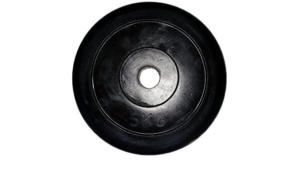 LiveUP Sports - Disco Peso 5Kg 1pz Agujero 28mm Goma Natural ...