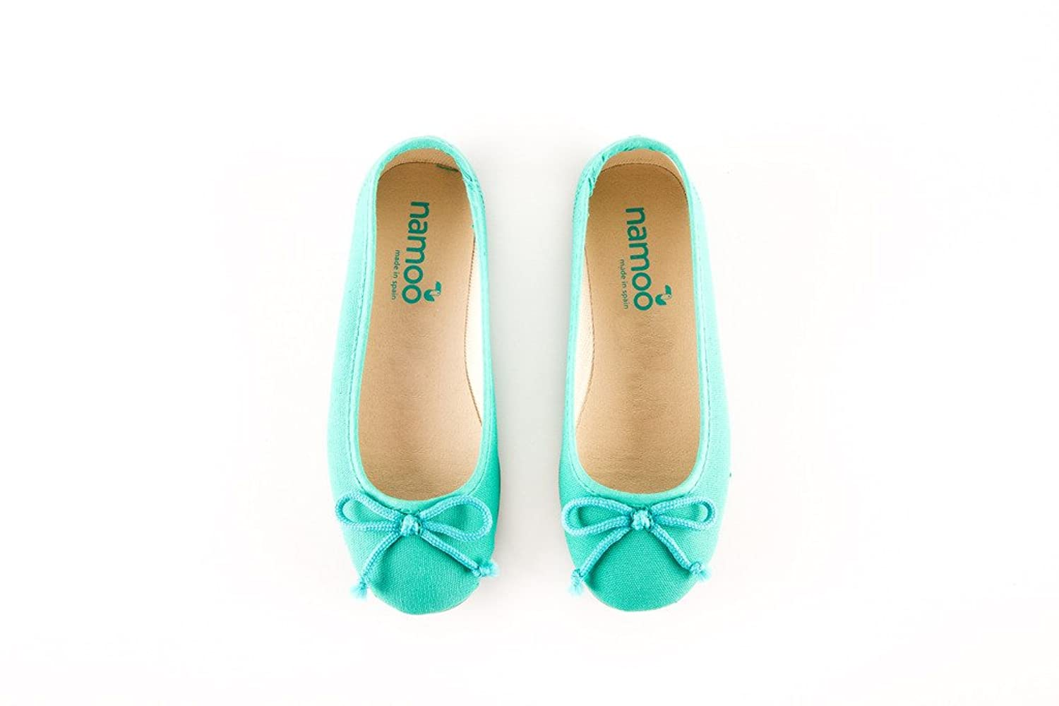 Namoo Ballerina for Girls, Cotton and Rubber Sole, Baby/Toddler/Kid Shoe,  Soft and Resistant: Amazon.ca: Shoes & Handbags