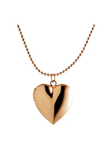 Amazon.com: Kebaner Heart Living Memory Locket Friend Photo Picture ...