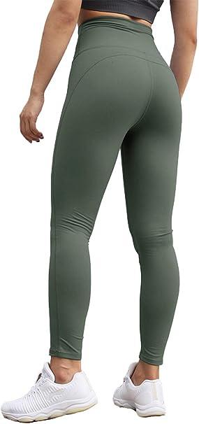 Fashion Womens High Waist Yoga Pants Tummy Control Power Flex Workout Running Leggings