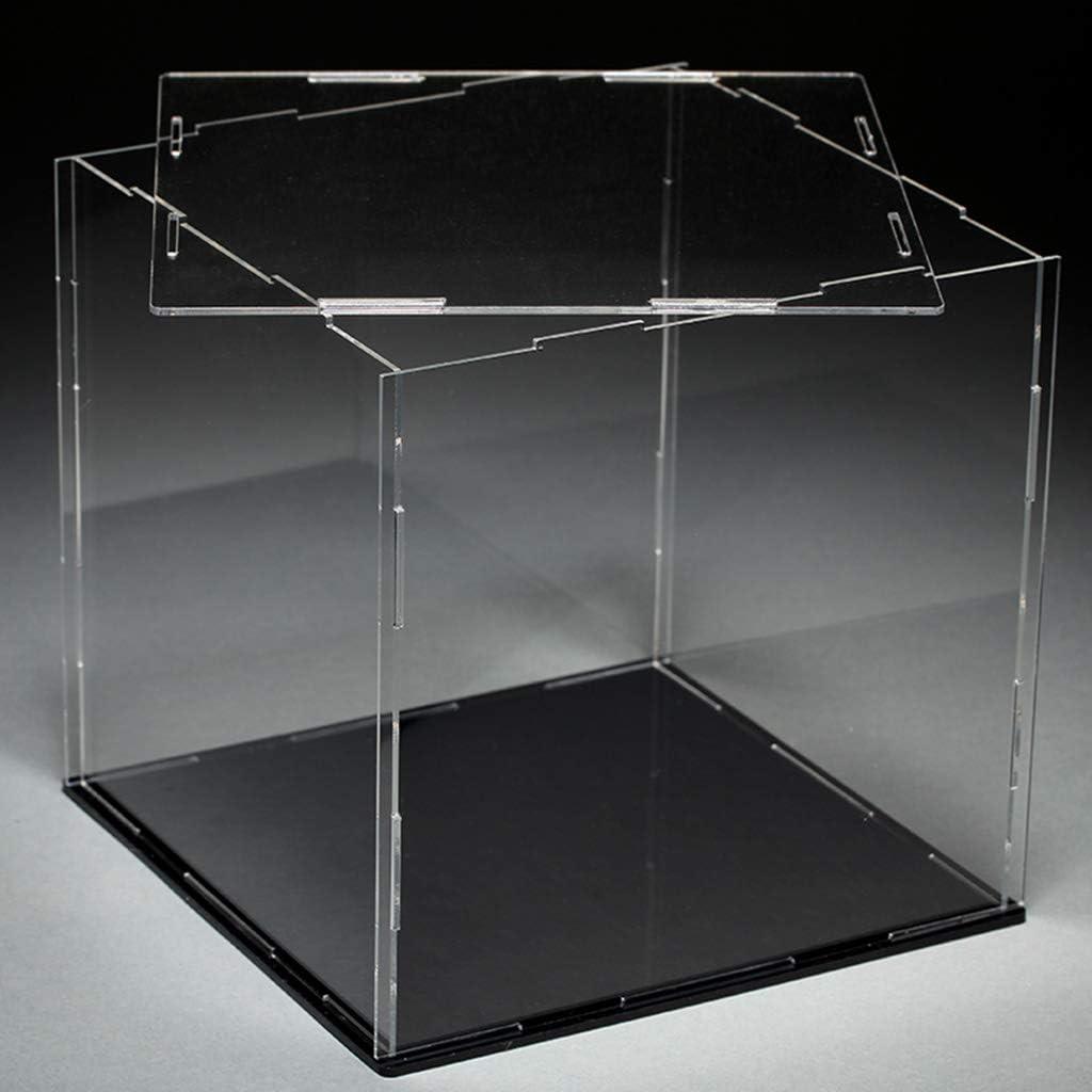 Sichuan Vetrina in Acrilico Trasparente Vetrina Giocattolo Modello Antipolvere Vetrina Action Figures Show Box