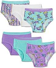 Fruit of the Loom Girls FOTL Girls 6PK Assorted Panty Brief Briefs