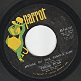 45vinylrecord House Of The Rising Sun/Drivin Blues (7