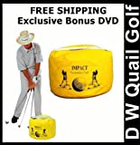 Golf Impact Bag Deluxe Package Includes Instructional DVD - The ORIGINAL Impact Bag and Training DVD developed by Dr. Gary Wiren Has Proven To Be More Effective Than Any Other Brand On The Market Today! You Will Also Receive An Exclusive Free Bonus DVD Fr