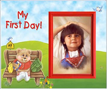 Amazoncom My First Day Back To School Picture Frame Gift