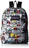 Jansport Superbreak Multi Comic Strip Backpack
