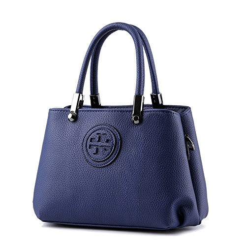 Wewod bolsa de mensajero de moda/bolso al hombro de elegante/bolso bandolera impermeable/bolso bandolera pequeño multifuncional 26 x 18 x 13 cm (L*H*W) Azul marino