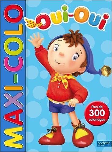 Livres gratuits Maxi-colo Oui-Oui pdf