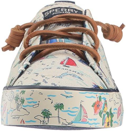 Sperry Women's Crest Ebb Map Sneaker