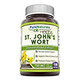 Pure Naturals St. John's Wort, 700 mg per Serving, 180 Capsules