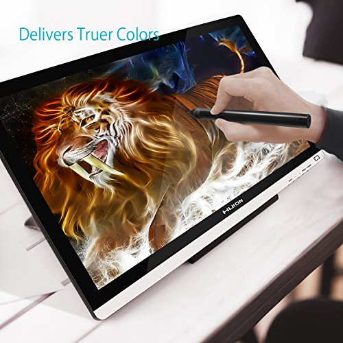 Huion 21.5 Inch Pen Display IPS Interactive Pen Monitor Graphics Monitor for Windows and Mac—GT-220 V2 Silver by Huion (Image #1)