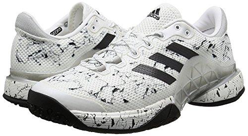 決済発掘する原子炉adidas(アディダス) オムニ/クレーコート用 テニスシューズ 24.0cm バリケード Barricade 2017 OC 国内正規品 BY1633 ランニングホワイト