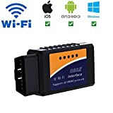 Giveet Car WIFI OBD2 Scanner-Wireless OBD 2 Scan Tool Interface Scanner-OBDII Car Code Reader Check Engine Light Diagnostic Tool for iOS, Android & Windows Devices