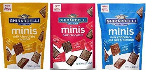 Ghirardelli Chocolate Flavor Variety Bundle