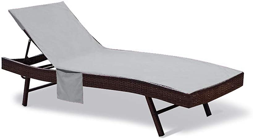 Amazon.com: Fundas de algodón para sillas de piscina, de 83 ...