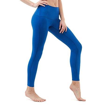 HaoLiao Salón de Cintura Alta Deportes Hip Fitness Legging ...