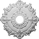 """CM18RL Ceiling Medallion, 18"""", Primed"""