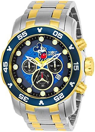 Invicta Men s Disney Limited Edition Quartz Watch with Two-Tone-Stainless-Steel Strap, 26 Model 23769