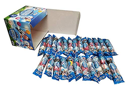 Soccer Bubble Gumballs Favors 24 Packs - 4 Gumballs in 1 Pack 24 x 4 Count Packs-FRESH ()