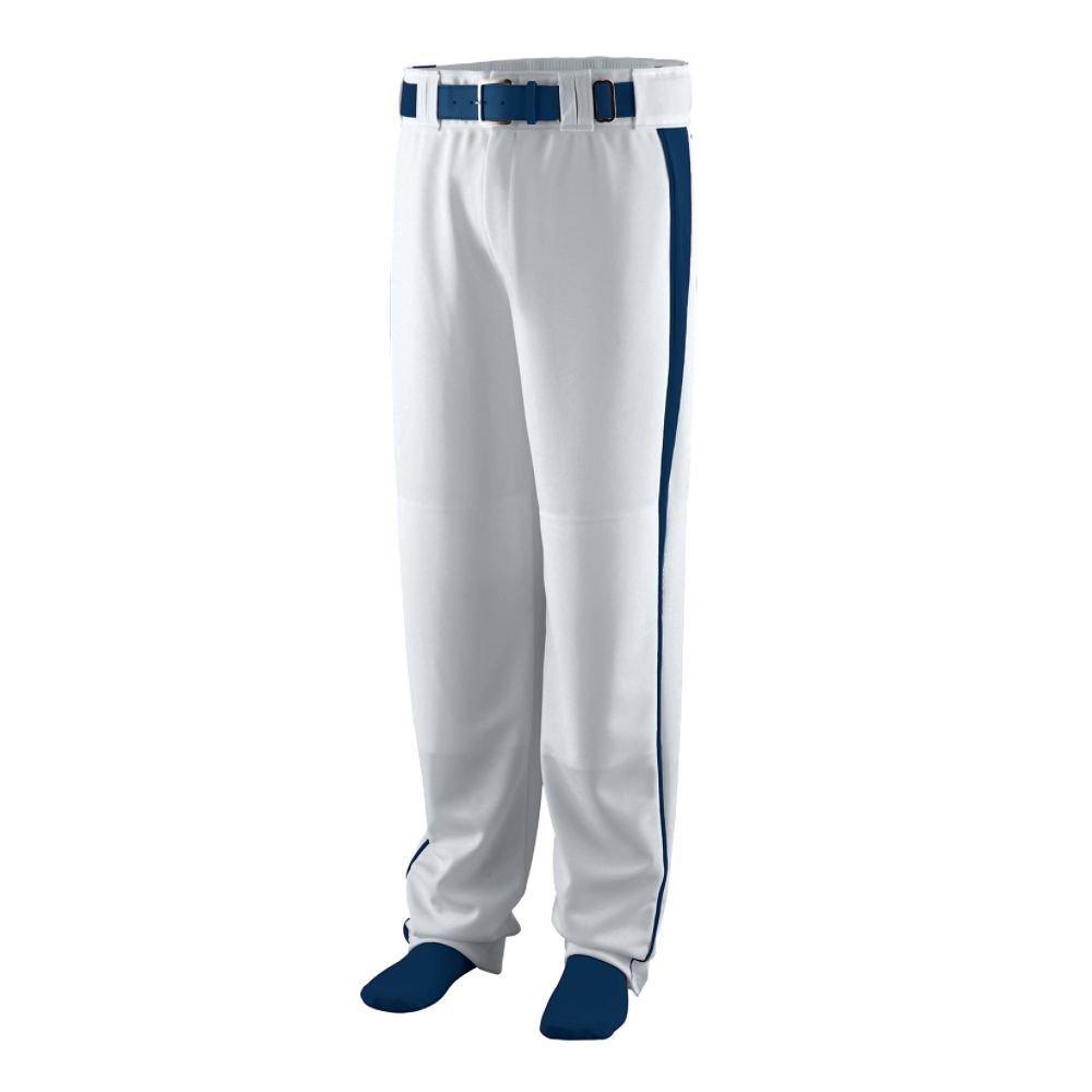 Augusta Sportswear Boys ' Triple Play Baseball Pant B00HJTJKNI Large|Silver Grey/Navy Silver Grey/Navy Large