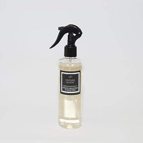 Spray igienizzante profumato per tessuti e superfici 250ml Alcool al 90% (ERBE SELVATICHE)