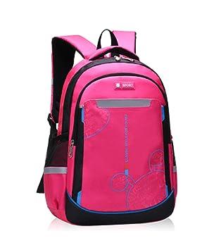Mochila Escolar Impermeable para niñas de niños, Bolsos Elegantes de Nylon para Mochilas universitarias para niñas, Hombres, Mujeres y Hombres: Amazon.es: ...