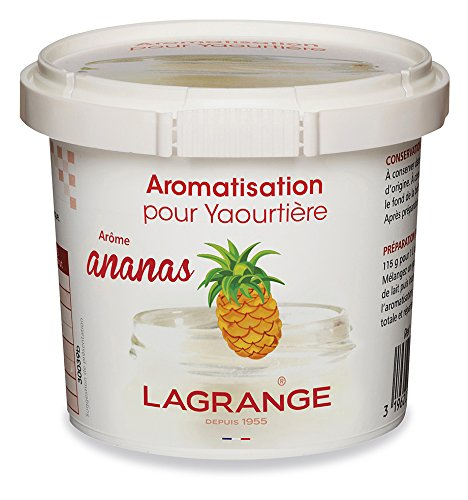 Lagrange Set de 6 Aromatisations ananas pour yaourts 380690