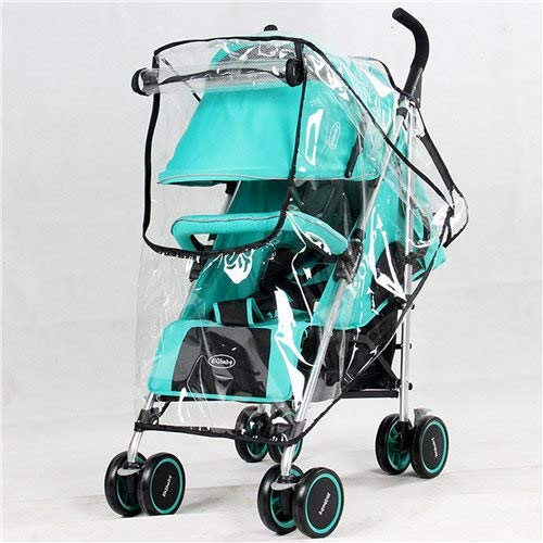 Waterproof Raincover for Stroller Prams Cart Dust Rain Cover Mosquito Net for Baby Stroller Pushchairs Accessories Baby Carriage   01