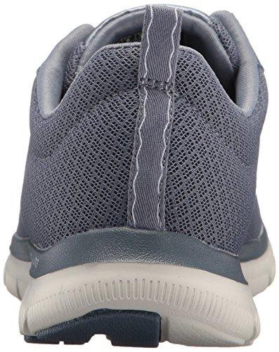 Donna Newsmaker Grigio Skechers Sneaker 2 0 Flex Appeal Basse 6P170Sq