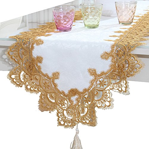 BeautiLife European Style Elegant Table Runners For Home Dining Table Decorative -