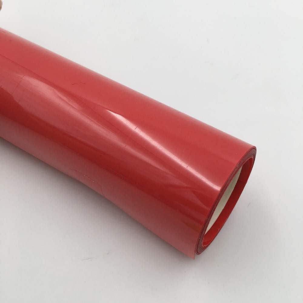 18 couleurs Pour personnaliser des T-shirts RED HTV Ensemble de feuilles de vinyle de 101,6 x 30,5 cm /à transfert thermique Vinyle adh/ésif thermocollant /à repasser