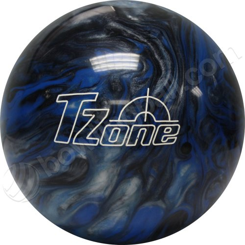 Swirl Ball - Brunswick TZone Indigo Swirl Bowling Ball (11-Pounds)
