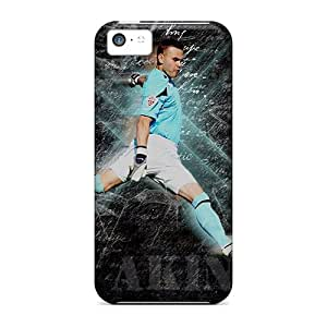 Shockproof/dirt-proof Cska Goalkeeper Igor Akinfeev With Ball Covers Cases For Iphone(5c)