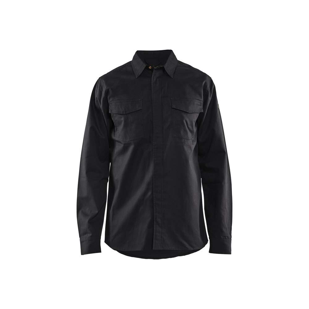 Blaklader 322615049900M - Camisa ignífuga, color negro, talla M