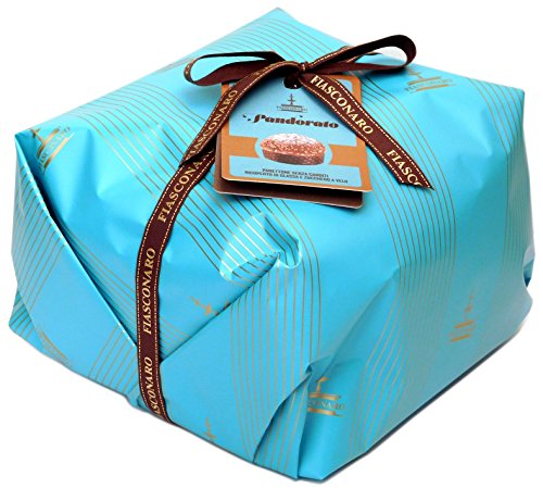 Fiasconaro Pandoro Panettone Traditional Italian Christmas Cake, 1000 g (35.27 oz) (Panettone Christmas Italian Cake)