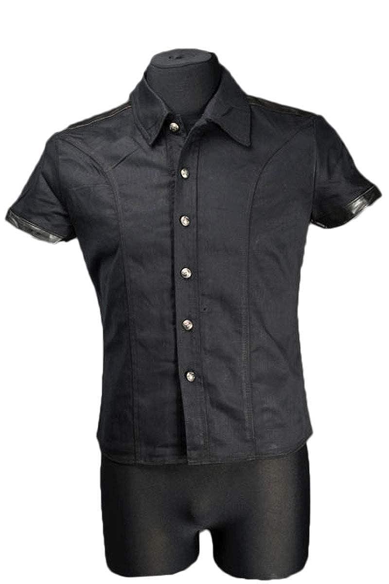 Dracula Clothing Hemd schwarz Strict Goth