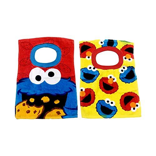 Sesame Street Elmo Baby Bibs- 2 Piece Pack (Yellow)