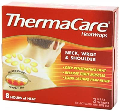 ThermaCare Air-Activated Heatwraps, Neck, Wrist & Shoulder