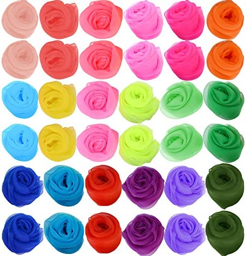 Zhanmai Pieces Scarves Juggling Multicolored product image