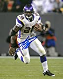 Adrian Peterson Signed Autograph Minnesota Vikings 8X10 Photo minor haze - Autographed NFL Photos
