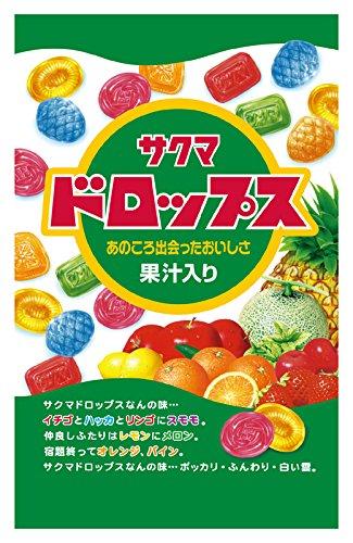 Cheap Sakuma confectionery bag containing Drops 110gX10 bags