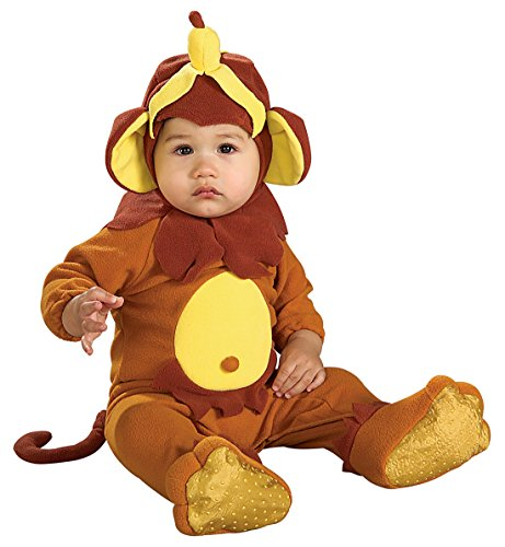 [Rubie's Costume EZ-On Romper Costume, Monkey See Monkey Do, 6-12 Months] (Monkey See Monkey Do Costume)