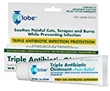 Triple Antibiotic + Pain Relief Dual Action Ointment, 1 Oz 12 Pack