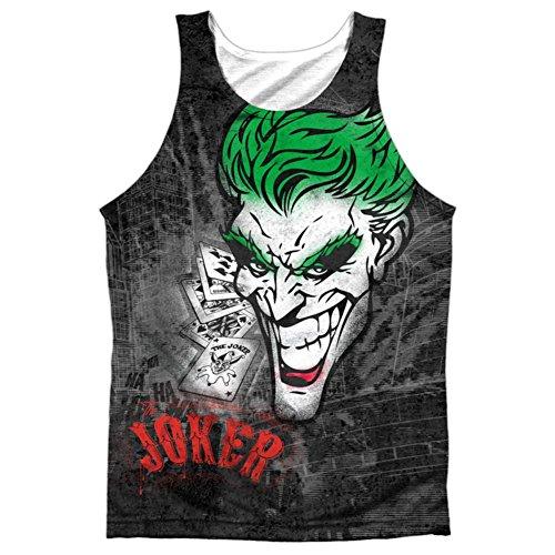 Tank Top: Batman- Joker Sprays The City Size L ()